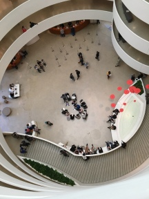 Guggenheim with people