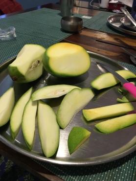 piercing sour mango